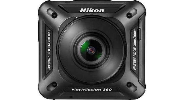 Nikon Key Mission 360 degree action camera