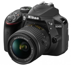 Nikon D3400 – Newly Released With Two New Lenses