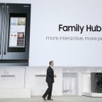 Samsung Family Hub 2.0 Enables Smart Fridge Interaction