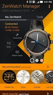 ZenWatch Manager App
