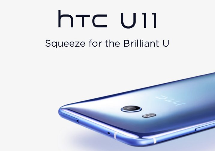 HTC U11 with Edge Sense