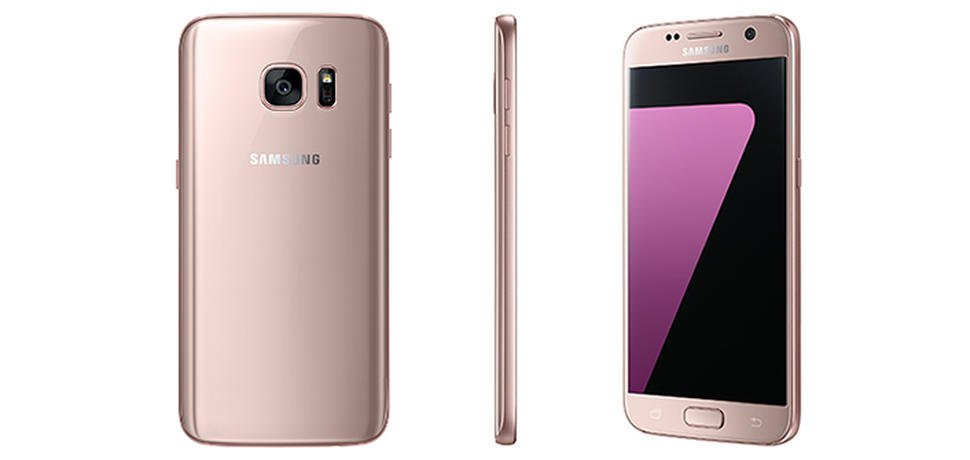 Samsung Galaxy S7 Soon in Pink Gold Colour