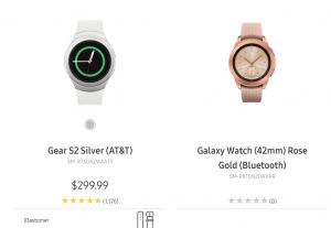 Samsung Galaxy Watch Keeps Tizen OS